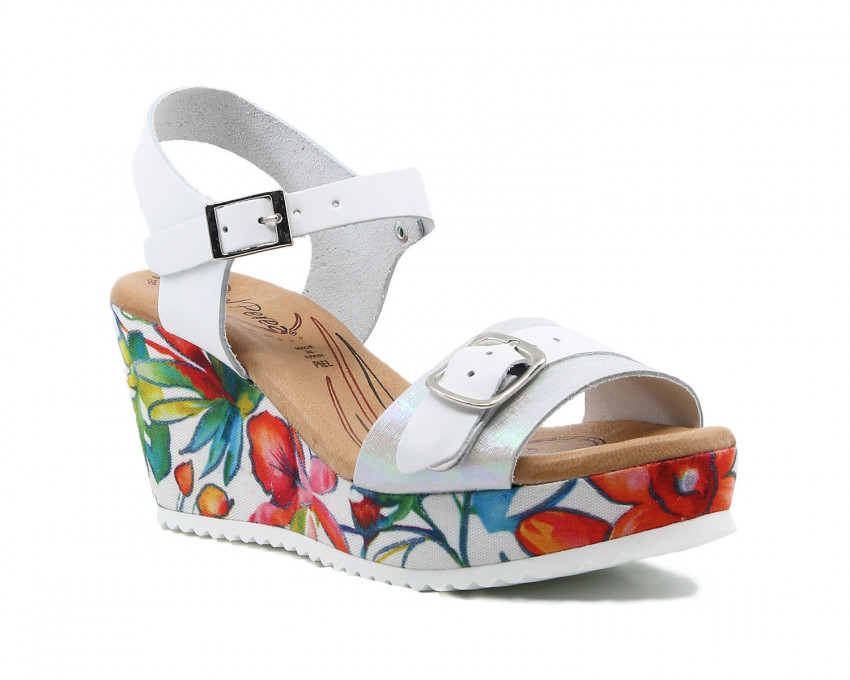 Sandalias Sandals Rojas Con Rojas Cuña Cuña Sandals Con Sandalias POZuikX